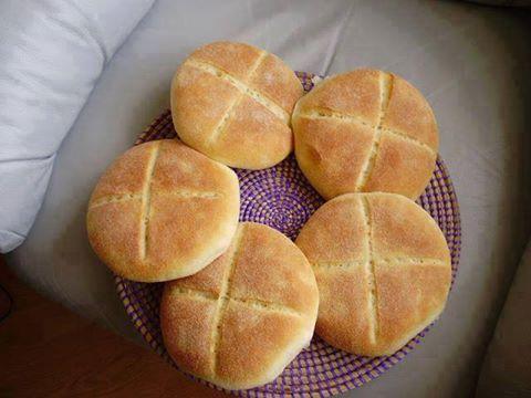 خبز الدار باللبن